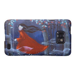 In The Woods With Animal Spirits Samsung Galaxy Case