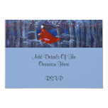 In The Woods With Animal Spirits. 3.5x5 Paper Invitation Card