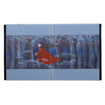 In The Woods With Animal Spirits. iPad Cases