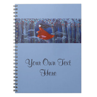 In The Woods With Animal Spirits Note Book