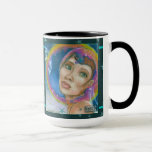 In the World Beyond Space Fantasy Portrait Mug
