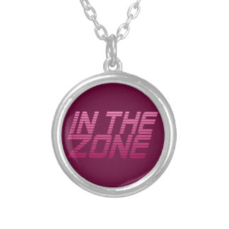 IN THE ZONE custom necklace