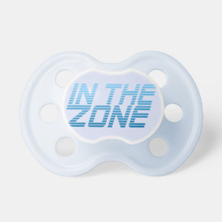 IN THE ZONE pacifier