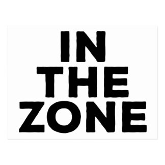 In The Zone Postcard