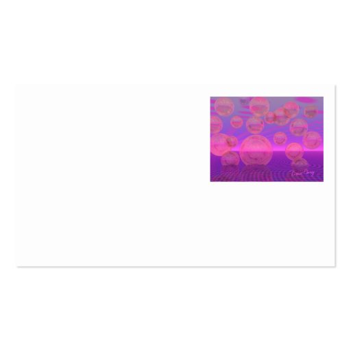 In the Zone – Rose & Amethyst Voyage Business Card