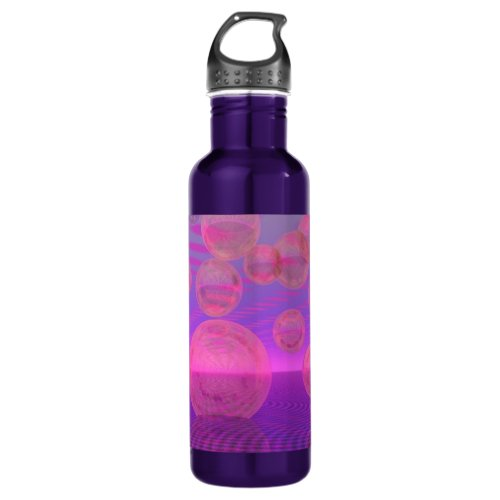 In the Zone – Rose & Amethyst Voyage Stainless Steel Water Bottle