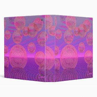In the Zone – Rose & Amethyst Voyage Vinyl Binders