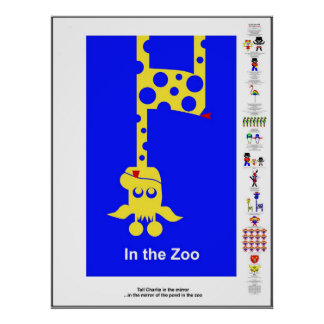In the Zoo with Sam and Lucca - in English/America Posters