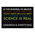 In This Business... Kindness Is Everything Sign