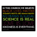 In This Church... Kindness Is Everything Sign