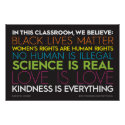 In This Classroom... Kindness Is Everything Sign