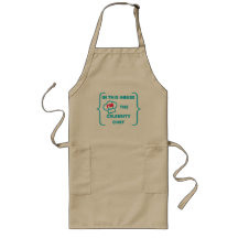 """In this house I'M the celebrity chef"" Long Apron"