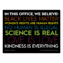 In This Office.... Kindness Is Everything Sign