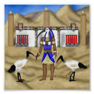 In Thoth's Image Print