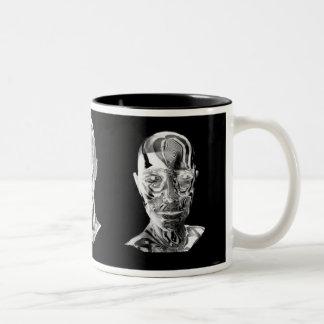 In Time Two-Tone Coffee Mug
