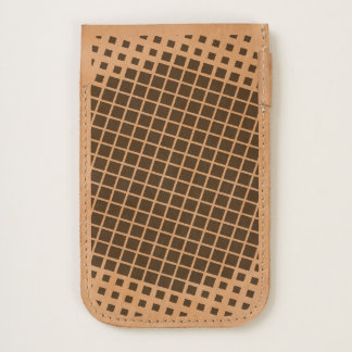 In To Squares Phone Pouch iPhone 6/6S Case