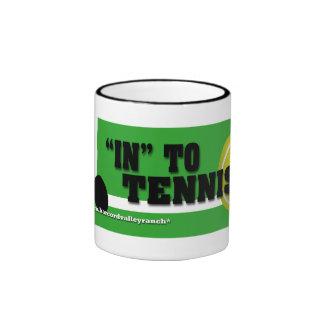"""""""In"""" to Tennis Mug"""