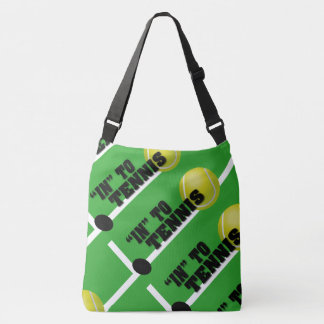 In to tennis tote bag