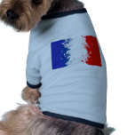 in to the sky, france pet t-shirt