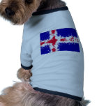 in to the sky, iceland dog t-shirt