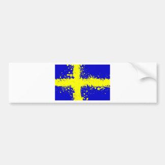 in to the sky, Sweden. Bumper Sticker