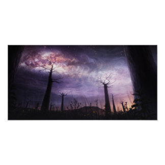 In Touch with the Universe - magic night sky Poster