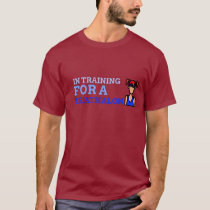 In Training For A TriAthalon Female Version T-Shirt