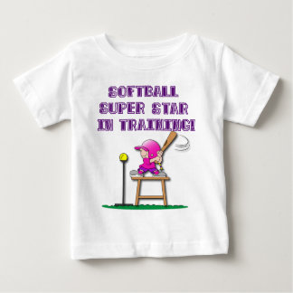 in training, pink baby T-Shirt