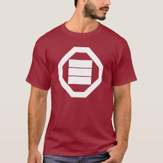 In tray triangular letter T-Shirt
