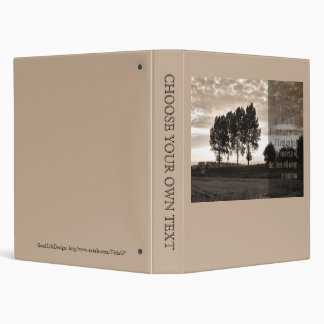 In trees grown tall 3 ring binder