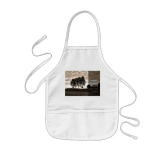 In trees grown tall kids' apron