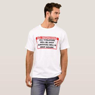 In trespassing T-Shirt