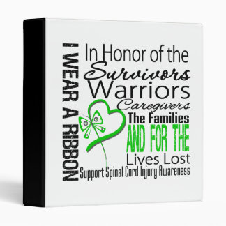 In Tribute Collage Spinal Cord Injury 3 Ring Binders