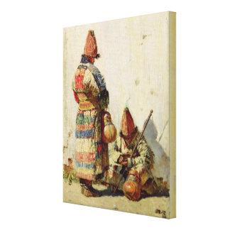 In Turkestan Gallery Wrap Canvas