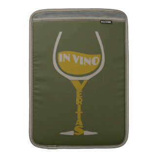 "In Vino Veritas custom 13"" MacBook sleeve"