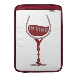 """In Vino Veritas custom 13"""" MacBook sleeve"""