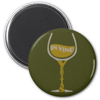 In Vino Veritas custom magnet