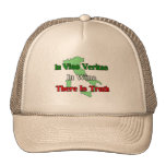 In Vino Veritas. In wine there is truth.... Hats