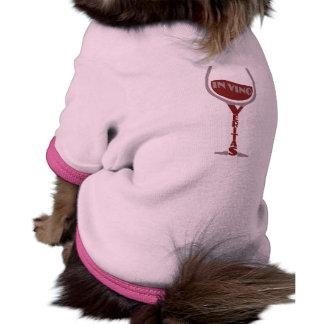 In Vino Veritas pet clothing