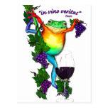 In Vino Veritas Postcard