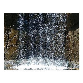 In-Waterfall Postcard
