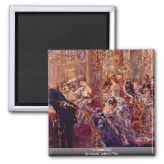 In White Hall By Menzel, Adolph Von Magnet