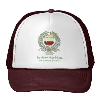 In Wine Is Truth Hat