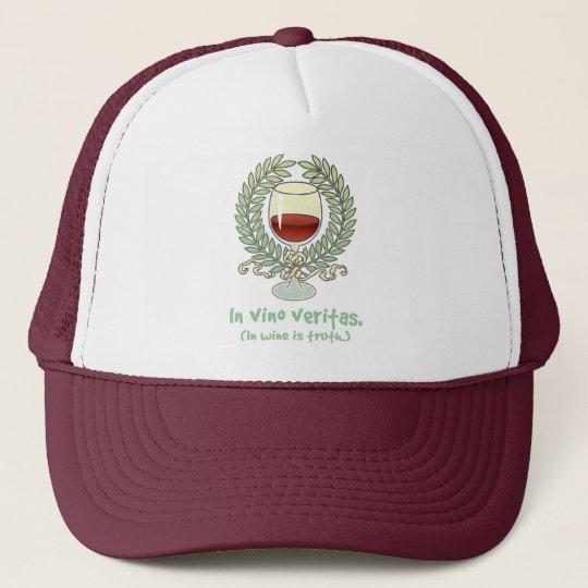 In Wine Is Truth Trucker Hat