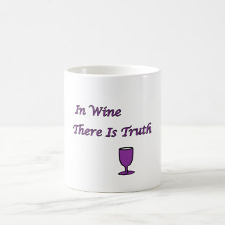 In Wine There Is Truth Coffee Mug