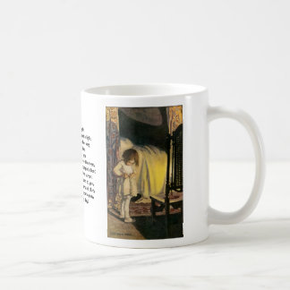 In winter I get up at night Coffee Mug