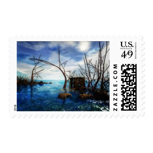 In with the tide postage stamp postage