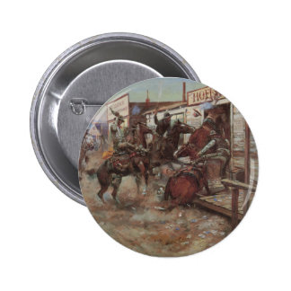 In Without Knocking 2 Inch Round Button