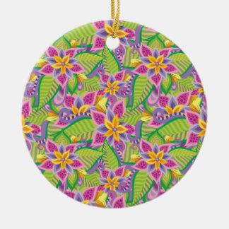 In Wonderland Ceramic Ornament