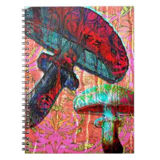 In Wonderland II Spiral Note Book